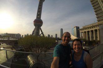 Meeting my sister in shanghai