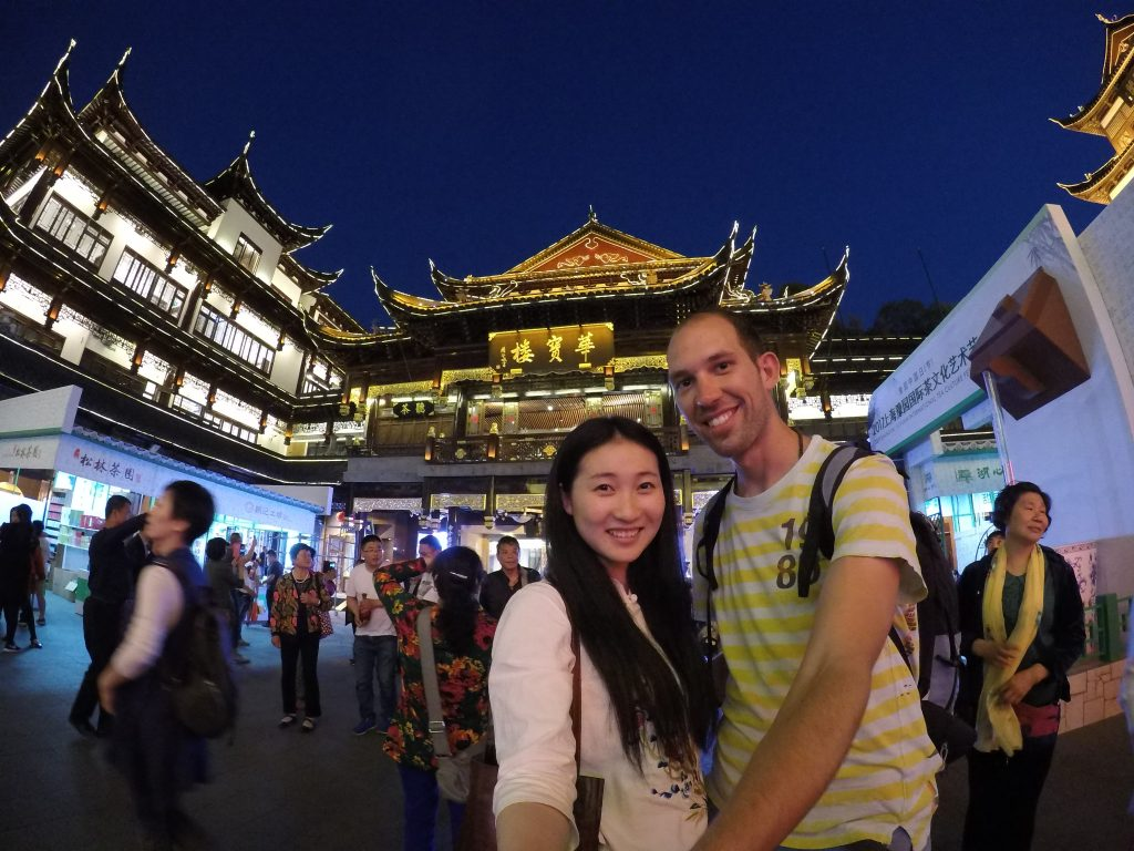 Yu Yuen garden exploring with Cristiam