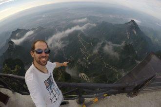 Zhangjiajie, mountain Tianmen